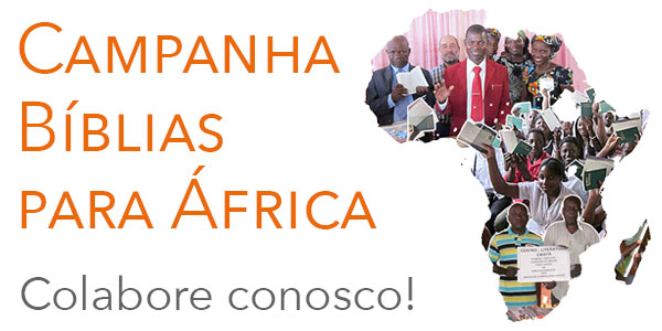 A Palavra de Deus é o alimento para a alma mas em África é quase impossível adquiri-la.  Colabore connosco no suprimento desta necessidade.