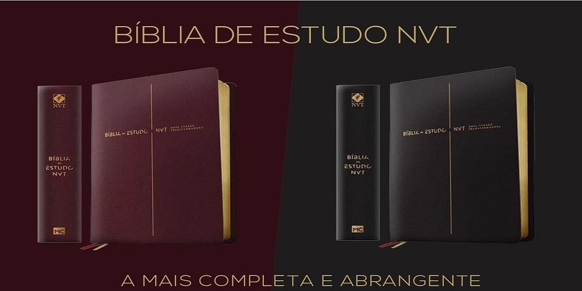 09 Bíblia de estudo NVT