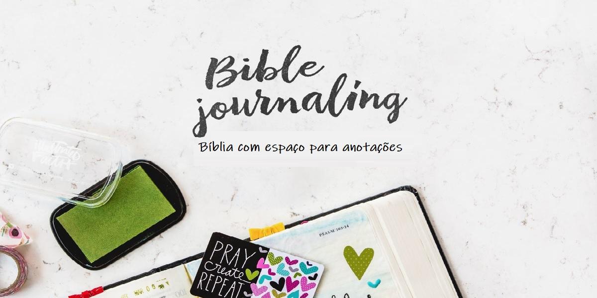 02 Bíblias com espaço para anotações
