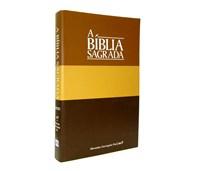 Bíblia Capa Brochura tons de castanho