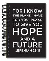 Bloco de notas - Jeremiah 29:11