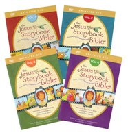 Jesus Storybook Bible Animated DVD - 4 DVD's Pack