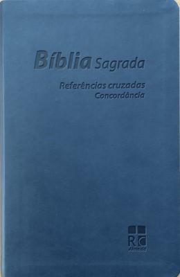 Bíblia Sagrada com referências cruzadas e concordância