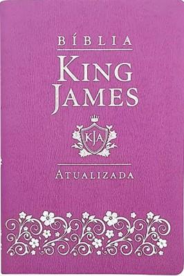 Bíblia King James Atualizada capa lilás