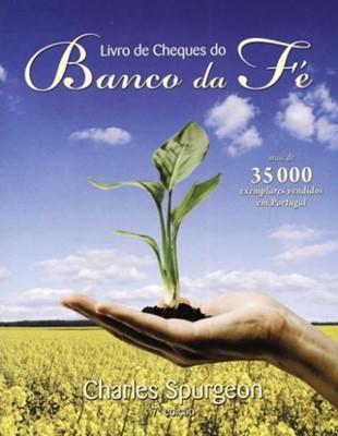 Livro de cheques do Banco da Fé