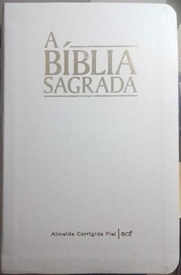 Bíblia ACF capa branca