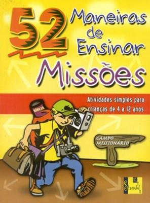 52 Maneiras de Ensinar Missões