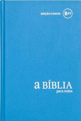 Bíblia para Todos - capa dura azul claro