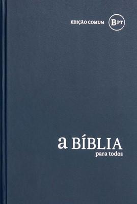 Bíblia para Todos - capa dura azul escuro