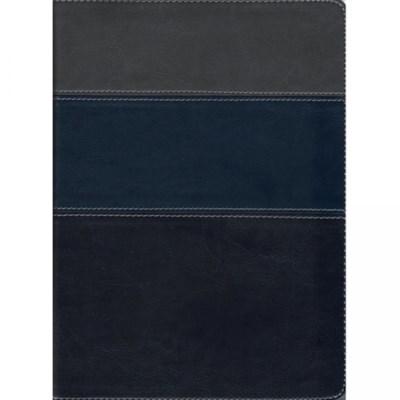Bíblia Thompson - Capa Azul e Cinza