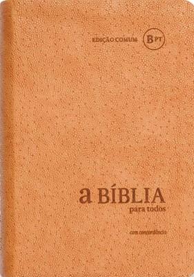 Bíblia para Todos com concordância - BPTc54C Creme