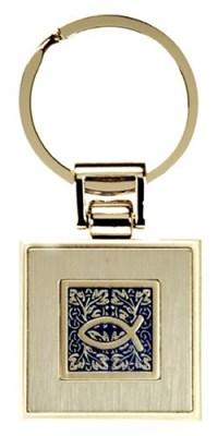Porta-chaves metal - Peixe