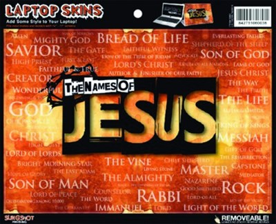 Laptop skins - The Names of Jesus