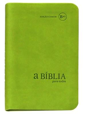 Bíblia para Todos pequena - BPTc34 verde clara