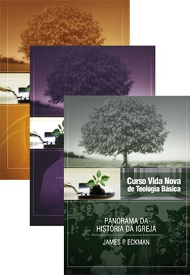 Curso Vida Nova de Teologia básica - Volumes 4, 5 e 6 - kit 2