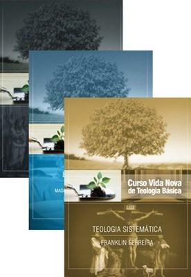 Curso Vida Nova de Teologia básica - Volumes 7, 8, 9 - kit 3
