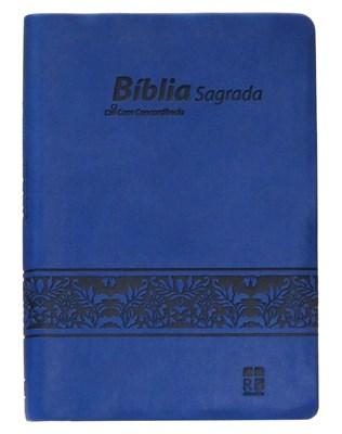 Bíblia DN 54C - capa azul