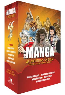 Mangá - Kit 5 livros