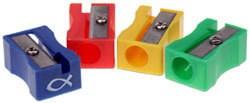 Afiadeiras - diversas cores (conjunto de 10)