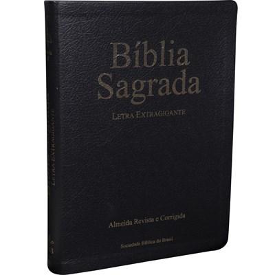 Bíblia Sagrada com letra extragigante