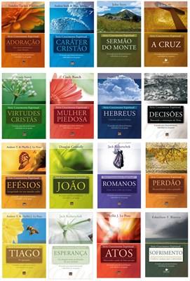 Kit Série Crescimento espiritual (16 volumes)