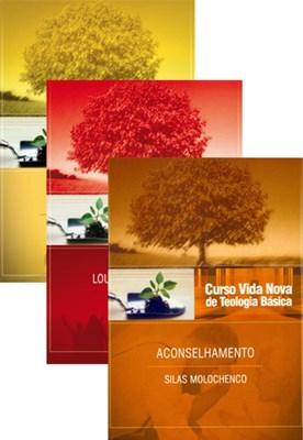 Curso Vida Nova de Teologia básica - Volumes 10, 11, 12 - kit 4