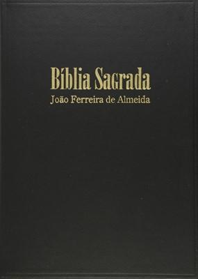 Bíblia Sagrada com letra extra gigante e palavras de Jesus a vermelho