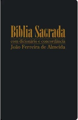 Bíblia Sagrada com letra gigante com dicionário e concordância