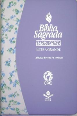 Bíblia Letra Grande com Harpa Cristã