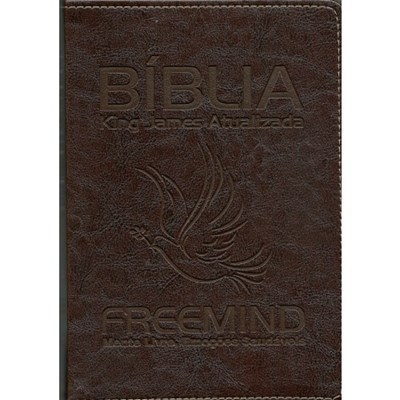 Bíblia King James Atualizada Freemind capa preta