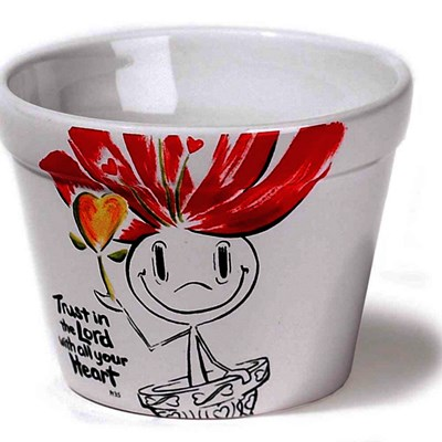Vaso de Flores - Trust in the Lord with all your heart