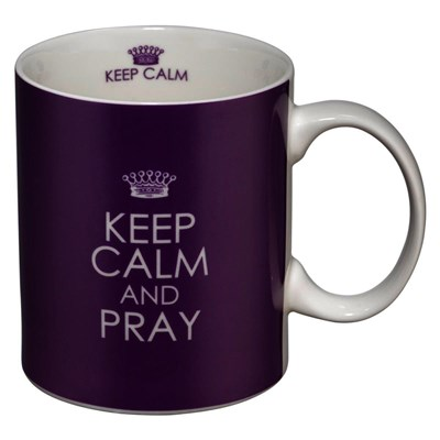 Caneca Keep calm and pray