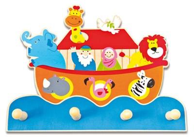 Cabide de parede - Arca de Noé