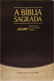 Bíblia ACF letra grande com referências, concordância e mapas