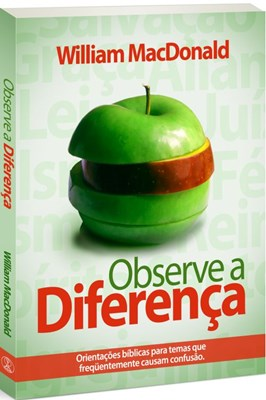 Observe a diferença