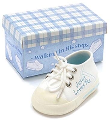 Sapato cerâmico - Jesus Loves Me
