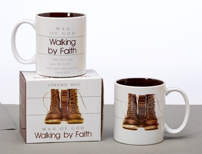 Caneca Walking by Faith