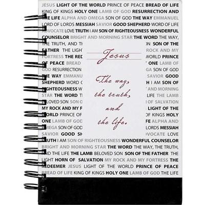 Bloco de Notas Names of Jesus