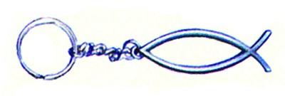 Porta-chaves metálico - Peixe