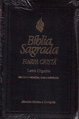 Bíblia sagrada letras gigantes