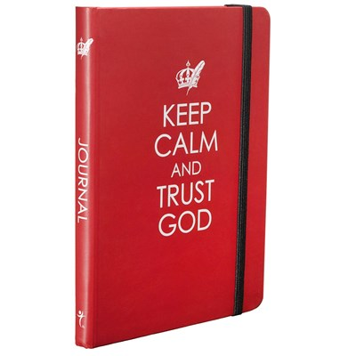 Bloco de notas - Keep Calm and Trust God