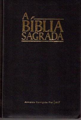 Bíblia ACF letra maior - caixa com 12 unidades