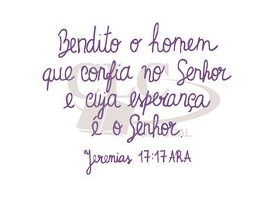 Postal Jeremias 17:17