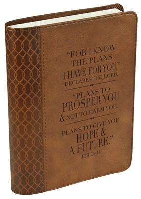 Bloco de notas Jeremias 29:11