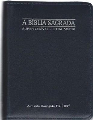 Bíblia ACF pequena superlegível, letra média
