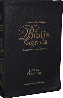 Bíblia Sagrada com letra gigante, edição com letras vermelhas