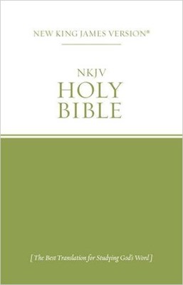 Holy Bible New King James Paperback Green
