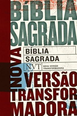 Bíblia NVT capa flexível e beiras brancas