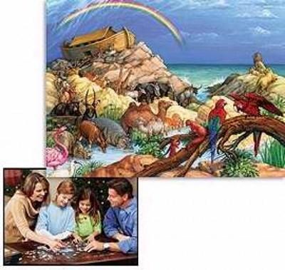 Puzzle Arca de Noé +3 anos