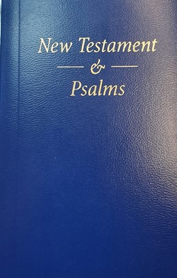 Pocket New Testament and Psalms